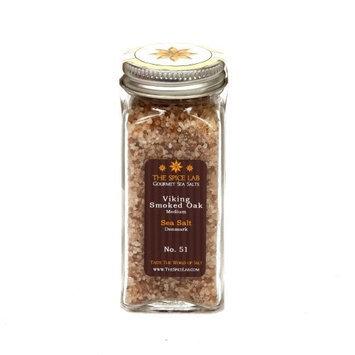 Gourmet Salt Company The Spice Lab Viking Smoked Oak Sea Salt, Medium, Denmark