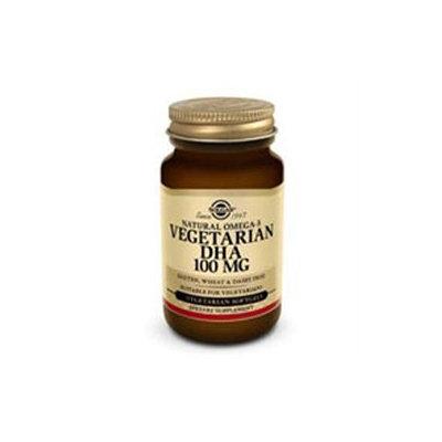 Solgar Natural Omega-3 Vegetarian DHA 100 mg
