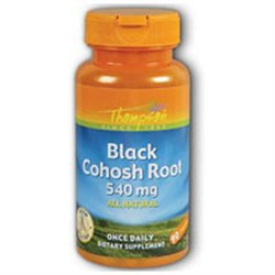 Black Cohosh Root 540mg by Thompson Nutritional - 90 Capsules