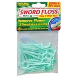 Sword Floss Easy Flaossing, Mint Flavor - 40 Ea
