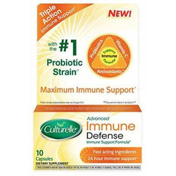 Culturelle Advanced Immune Defense Supplement, 10 Count