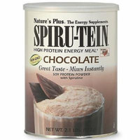 Nature's Plus Spiru-Tein High Protein Energy Meal, Chocolate 2.1 lb (952 g)
