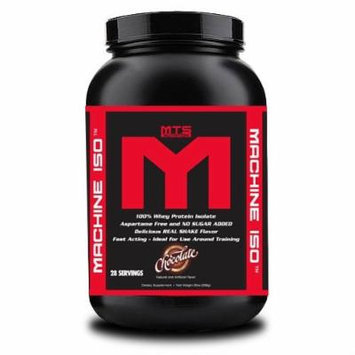 MTS Nutrition Machine ISO - Great Tasting Whey Protein Isolate (Chocolate, 2 Pounds)