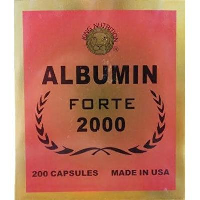 Albumin Forte 2000, (200 capsules)