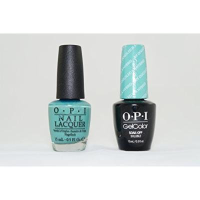 OPI Nail Lacquer and Gelcolor My Dogsled Is a Hybird. Each Bottle Contains .5 Oz.