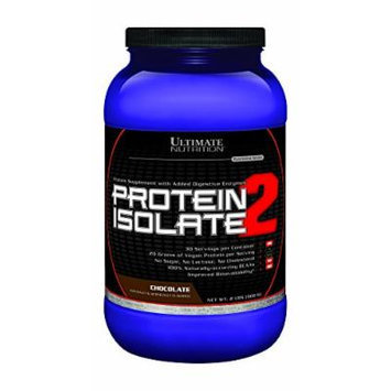 Ultimate Nutrition Protein Isolate 2 Chocolate 30 Servings 2 Lbs.