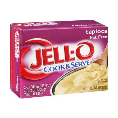 JELL-O Cook & Serve Pudding & Pie Filling Tapioca Fat Free