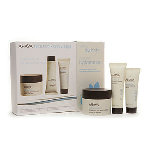 AHAVA Face Trio Gift Set