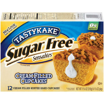 TastyKake® Sensables Sugar Free Cream Filled Koffee Kake Cupcakes