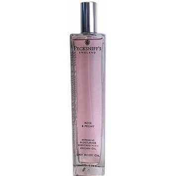Pecksniffs Rose & Peony Intensive Moisturiser Dry Body Oil 3.38 Fl.Oz. From England