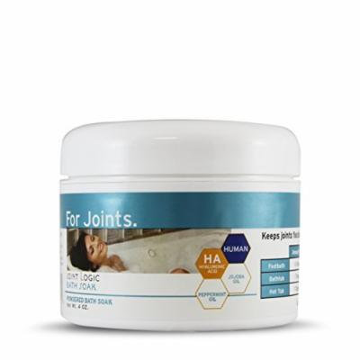 Hyalogic HylaSoak Bath Soak - Moisturize & Maintain Joints & Muscles With The Soothing Power Of Hyaluronic Acid - 4 Ounces (FFP)