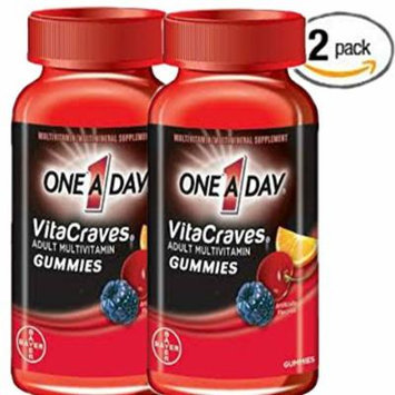 One A Day Vitacraves Regular Gummies, 150 Count, Pack of 2
