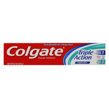Colgate Triple Action Toothpaste, Original Mint, 8.2 oz