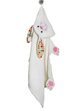 Zoocchini 11100 Bella the Bunny Hooded Towel - 50 x 22 in.
