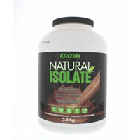 Kaizen Naturals Natural Whey Isolate, Decadent Chocolate 5lbs