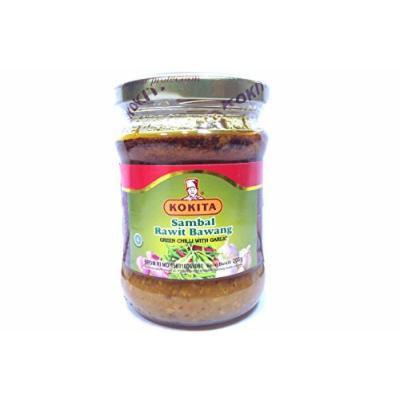 Sambal Rawit Bawang (Green Chili w/ Garlic) - 7oz (Pack of 1)