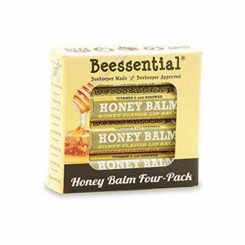 Beessential Honey Lip Balm (4 Pack)