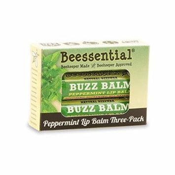 Beessential Peppermint & Honey Lip Balm 3 Pack