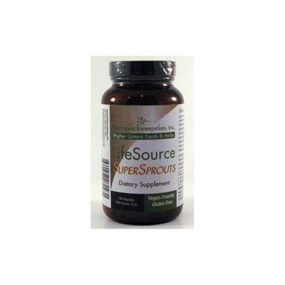 Harmonic Innerprizes LifeSource SuperSprouts - 400 mg - 180 Vegetarian Capsules