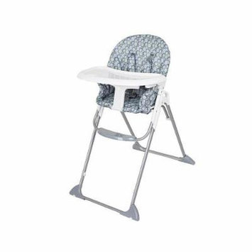 Babies R Us Compact Fold High Chair - High-Rise Grey