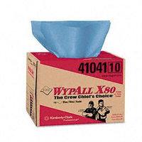 Kimberly-Clark Professional Wypall X80 Brag Box Hydroknit Wipers, 160pk