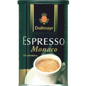 Dallmayr Gourmet Coffee, Espresso Monaco (Ground), 7-Ounce Tins (Pack of 4)