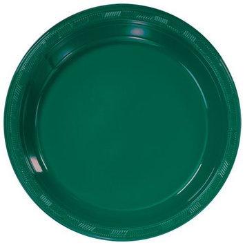 Hanna K Signature Hanna K. Signature 88010 10 in. Hunter Green Plastic Plate - 600 Per Case