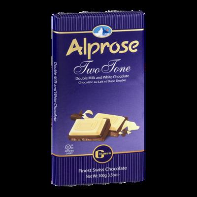 Alprose Finest Swiss Chocolate Two Tone