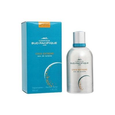 Comptoir Sud Pacifique Eau de Toilette Spray, Coco Extreme, 3.3 Ounce