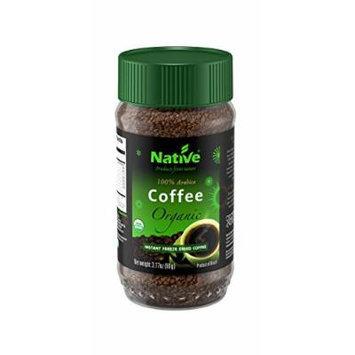 Native USA Organic Freeze-Dried Coffee, 3.17 Ounce Jars