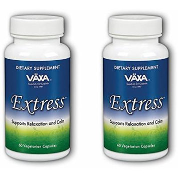 VAXA Homeopathic Extress - 60 capsules (2 pack (60 count bottles))