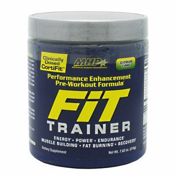 Fit Trainer By MHP, Pre-Workout, Cirtus Lime 40 Servings