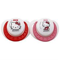 NUK Hello Kitty Orthodontic Pacifier Sz2, Silicone
