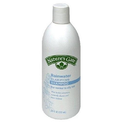 Nature's Gate Rainwater Clarifying Shampoo for Normal to Oily Hair, 18-Ounce Bottles (Pack of 4)