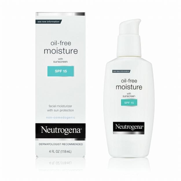 Neutrogena® Oil-Free Moisture Broad Spectrum SPF 15