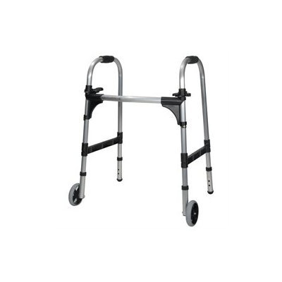 Drive Medical Light Weight Paddle Walker with Wheels, Junior, 1 ea
