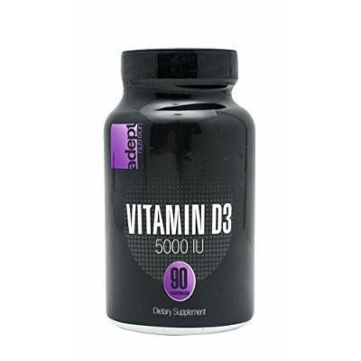 ADEPT NUTRITION Vitamin D3 IU Capsules, 90 Count