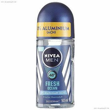 Nivea Men Fresh Ocean Aluminum Free 48h Deodorant Roll-On 50 ml / 1.7 fl oz