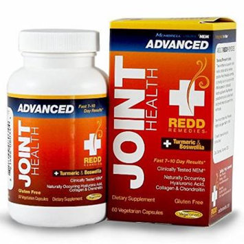 Redd Remedies JointHealth Advanced - Natural Joint Health Product - Supports Healthy Inflammatory Response - Unique Joint Health Formula - 60 Capsules