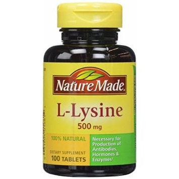 L-lysine 500 Mg, 100 Ct (Pack of 2)