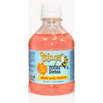 Bundle - Stinger Total Detox Pink + Stinger the Buzz Detox Cleaners 5 Caplets + Stinger Mouthwash with Free I'm Baked Bro & Doob Tubes Sticker