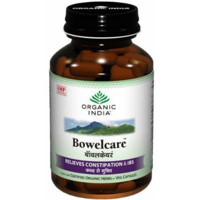 Organic India Bowelcare 60 Capsule