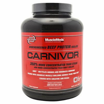 Carnivor Beef Protein By MuscleMeds, Cherry Vanilla 4lbs