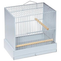 Prevue Pet Products CSC Canary Show Cage - Light Grey