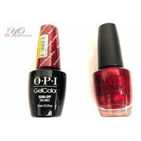 OPI Nail Lacquer and Gelcolor Ro-Man-ce on the Moon G33. Each Bottle Contains .5 Oz. Free Tend Skin Sample