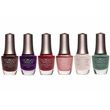 Morgan Taylor Urban Cowgirl Collection Fall 2015 Nail Lacquer Set of 6 Colors