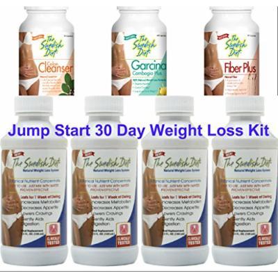 The Swedish Diet Jumpstart Weight Loss Kit, 34 Ounce