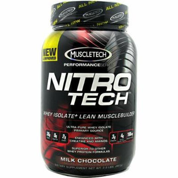 Nitro-Tech Performance Series By Muscletech, Milk Chocolate, 2 lbs