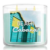 Bath & Body Works Beach Cabana 3 Wick Scented Candle 14.5 oz./411 g