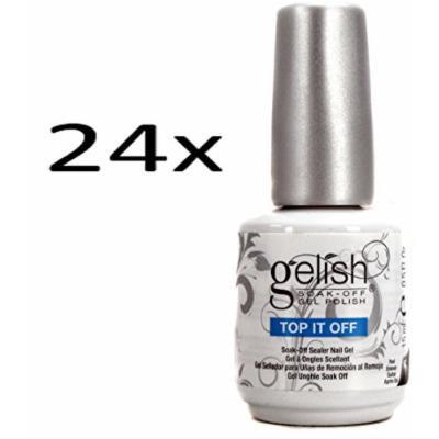 24) Gelish Top It Off Coat for Gel Led UV Soak Off Nail Polish (15mL .5oz)
